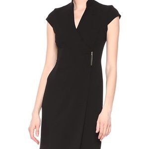 NWOT Calvin Klein Wrap Dress Size US 10